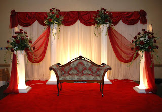Indian Wedding Stage Decorations Photos