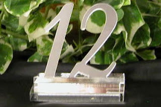 Popular Wedding Table Numbers