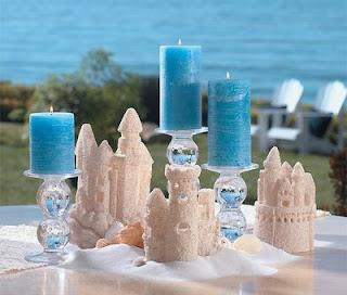 Popular Beach Wedding Table Decorations 2011
