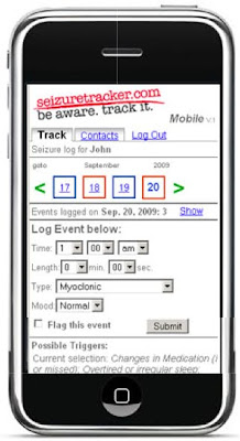 Seizure Tracker iPhone