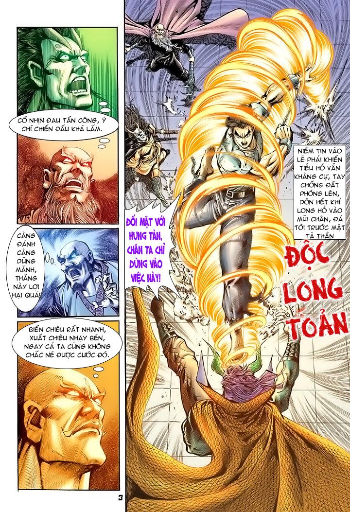 Tân Tác Long Hổ Môn chap 74 - Trang 3