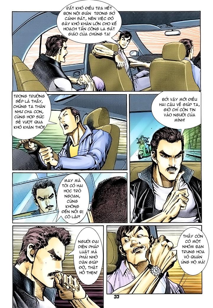 Tân Tác Long Hổ Môn chap 74 - Trang 33