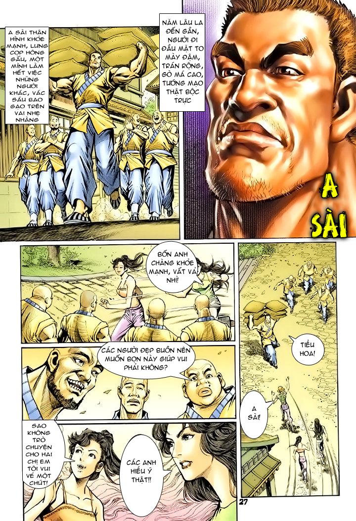 Tân Tác Long Hổ Môn chap 74 - Trang 27