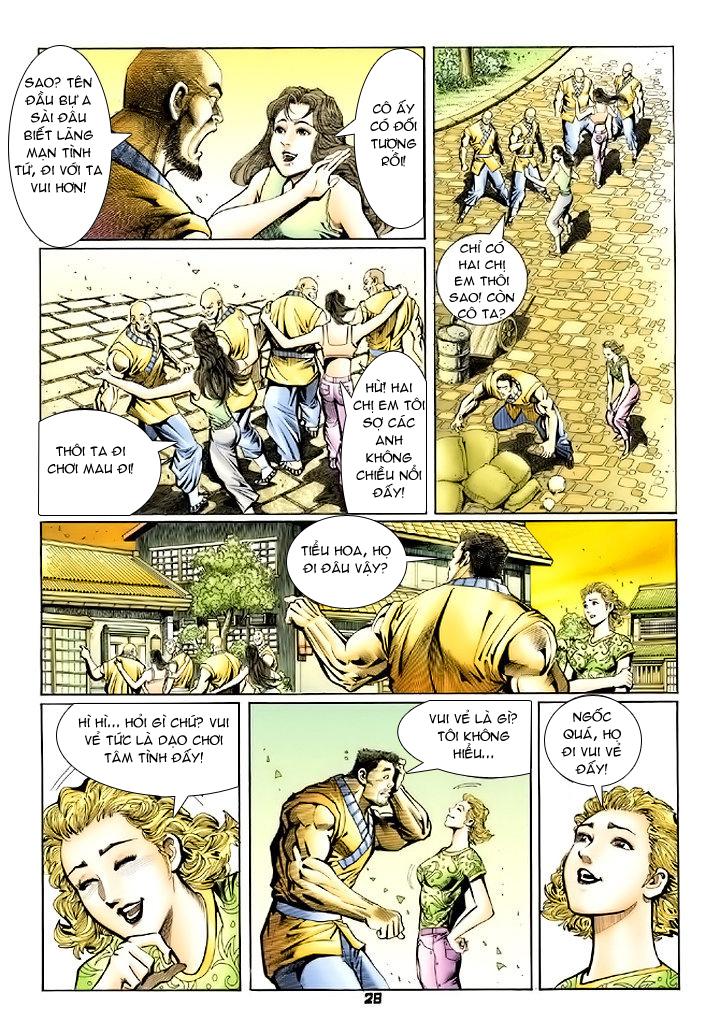 Tân Tác Long Hổ Môn chap 74 - Trang 28