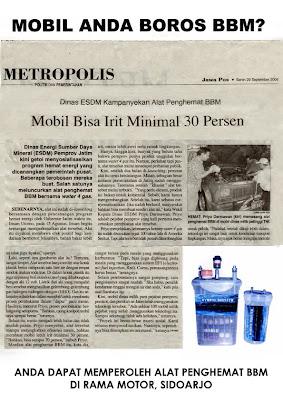 Alat Irit Bbm Motor - Xpower Penghemat BBM Terbaik