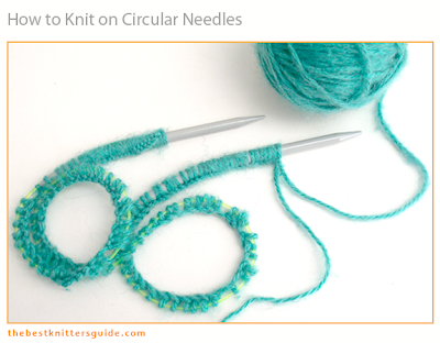 Maggie's Rags Knitting Tips - Knitting on Circular Needles