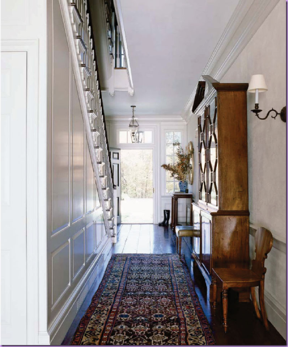 Through the french eye of design: help: a long narrow hall