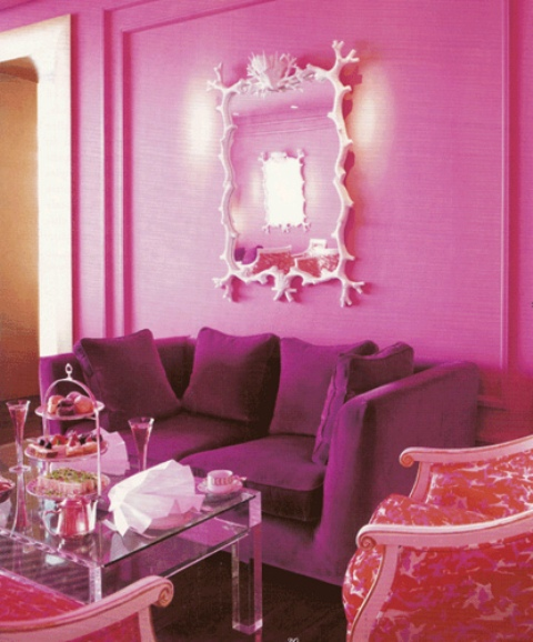 Through the French eye of design: HELP: HOT PINK