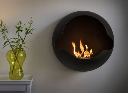 Through the French eye of design: WOODLESS FIREPLACES