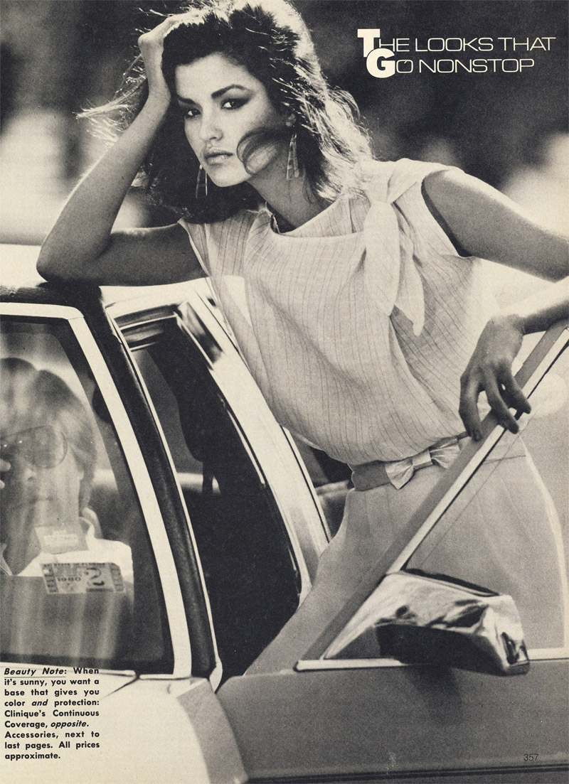 Marie Helvin was one of the best known faces of fashion scene. She ...