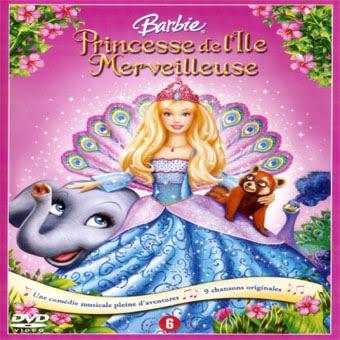 Cin jaquette barbie princesse de l 39 le merveilleuse - Barbie et l ile merveilleuse ...