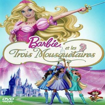Cin jaquette barbie et les trois mousquetaires - Barbie les trois mousquetaires ...
