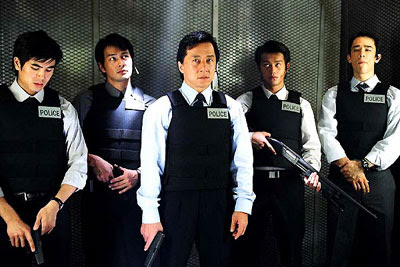 Jackie and his squad in New Police Story