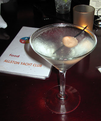 eating l a allston yacht club s smoky bacon n egg martini