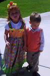 Clarissa and Hunter Easter 09