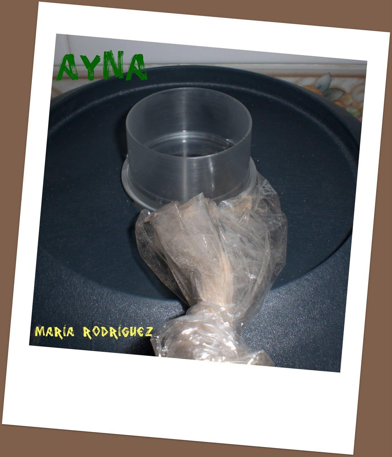 Ayna elmundodemaria chocolate al ba o mar a thermomix - Envasar al bano maria ...