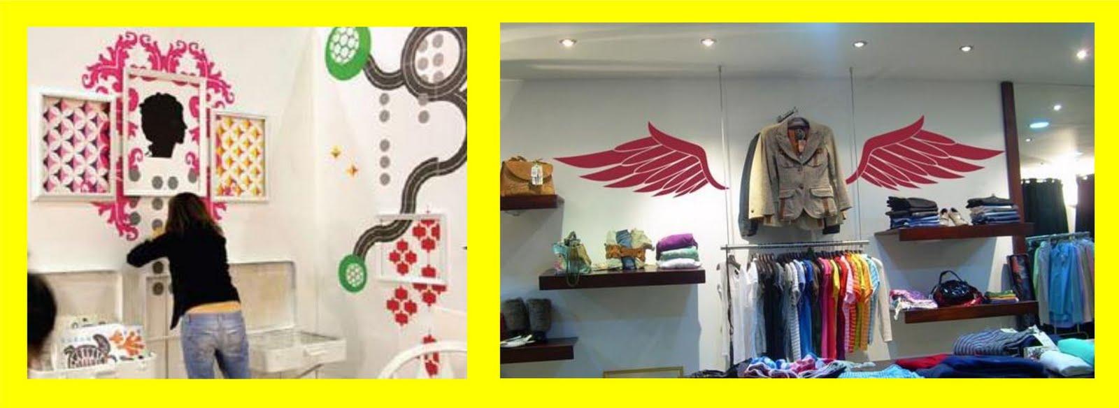 Pixellstick adhesivos decorativos dise os para locales - Diseno locales comerciales ...