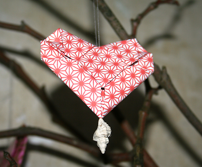 Origami Valentine's day Heart: Origami Valentine's day Heart folding
