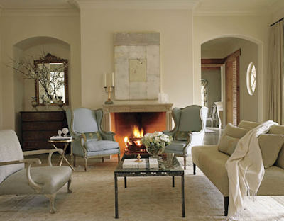 Site Blogspot  Decorating Tips  Living Room on Simplified Bee    Tips On Decorating The Fireplace Mantel