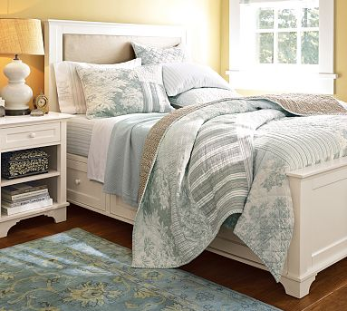 Pottery Barn Storage Bed