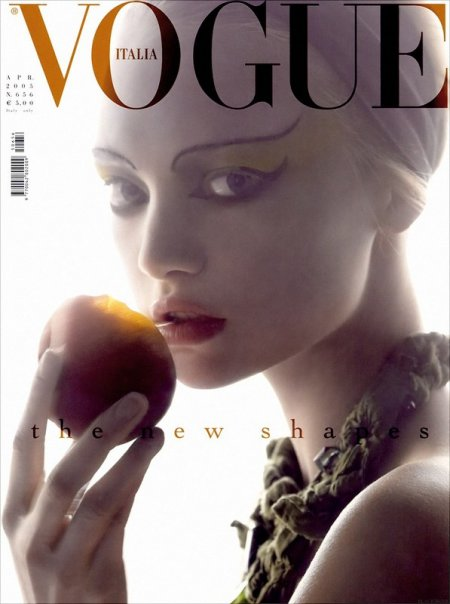 gemma ward vogue italia. The Fine Art of Accessory by