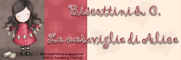 Biscottini & C. Le meraviglie di Alice
