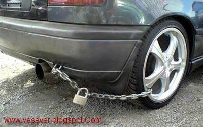 صور لنظام حماية السيارة