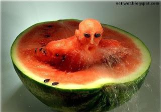 fruit art water melon wallpapers