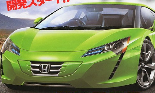 ... Following The Last Scoop On The NSX And S2000 Successors (earlier Post)  Almost One Month Ago, BC Has Published Another Rendering Of The Future NSX.