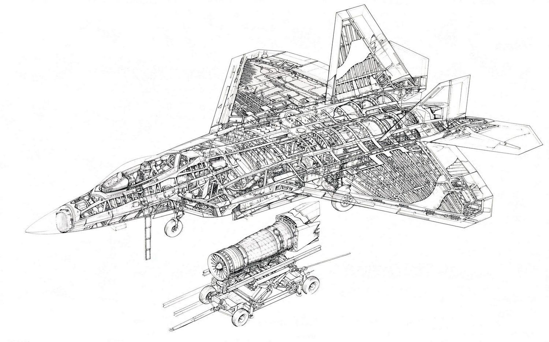 hightechnologyzone  5th generation jet fighter u2019s technology