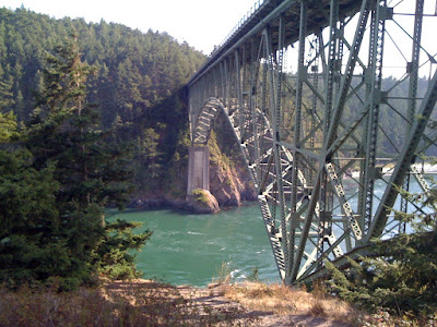 North tip of Whidbey Island - Deception Pass. Amazing.
