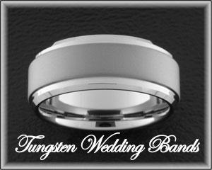 Tungsten Wedding Ring, Tungsten