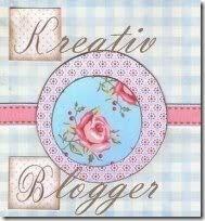 Kreatív Blogger Díjam(L), amit köszönök mindekinek!