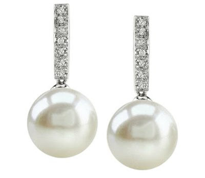 pearl earrings