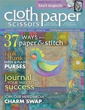 Featured in the Jan/Feb issue of Cloth Paper Scissors