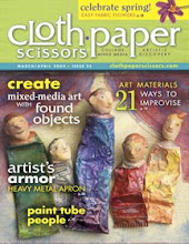 Featured in the Mar/April issue of Cloth Paper Scissors