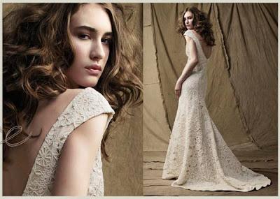 Весільні в язані сукні