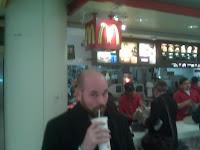 Spending $16 at McDonald's