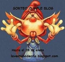 Sorteo Cumple-Blog de Cristina