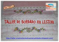 Taller de bordado en liston