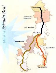 Localização de Cidades da Estrada Real