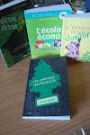 Mes livres : L'écolo écono, la trilogie...et le dernier-né : les pollutions invisibles