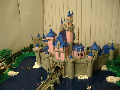 Lego Castle of Disneyland Seen On www.coolpicturegallery.net