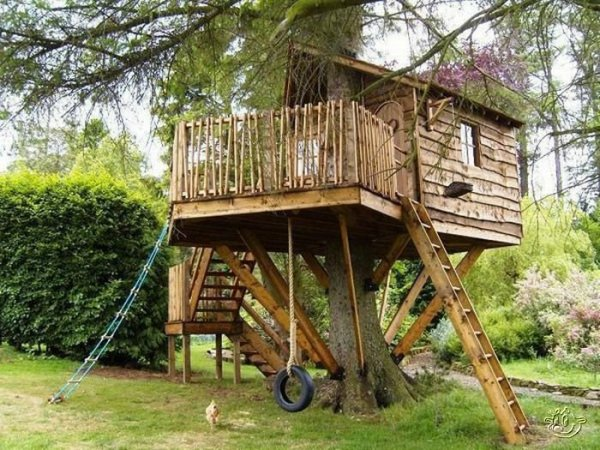 Creative tree house ideas around the world curious for Arreglar jardin abandonado