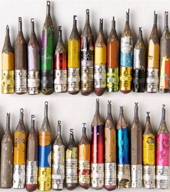 pencil sculptures 07 - Awesome Pencil Sculptures