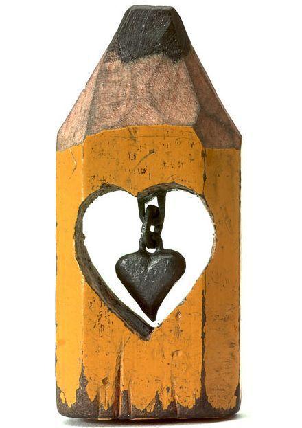 pencil sculptures 10 - Awesome Pencil Sculptures