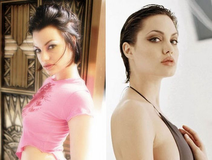 Porn stars who look like Celebrities - SFW   Curious