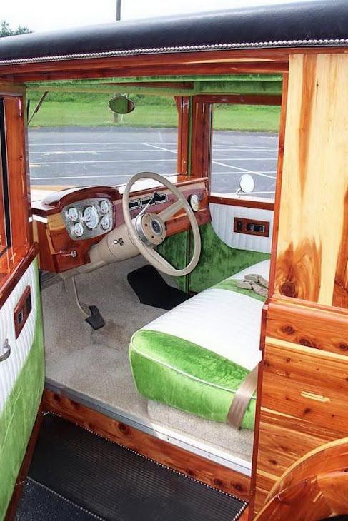 Wooden SUV
