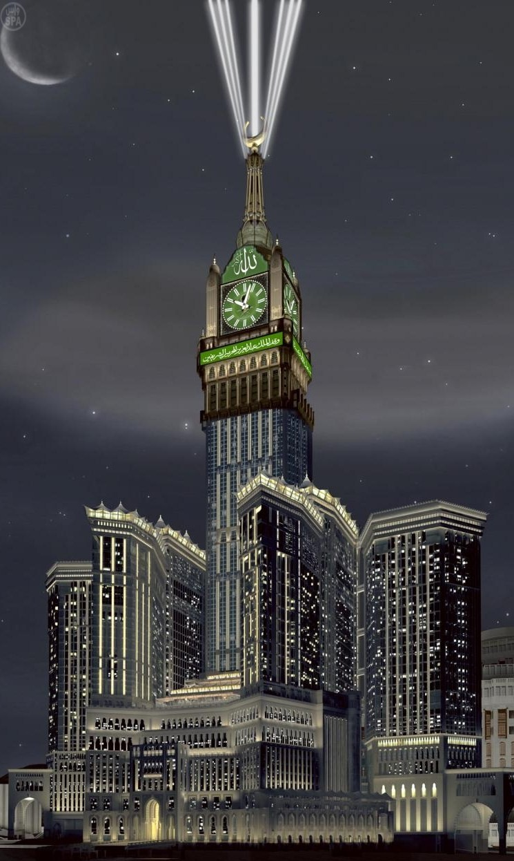 makkah clock royal tower hotel mecca sex porn images. Black Bedroom Furniture Sets. Home Design Ideas