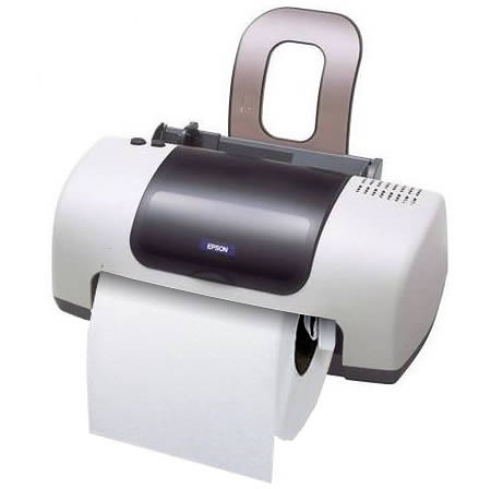 Funny Unusual Toilet Paper Holder Home Appliance
